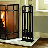 Pleasant Hearth Mission Style 5 Pc. Fireplace