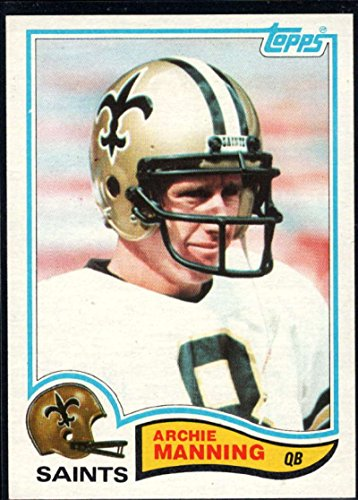 Football NFL 1982 Topps #408 Archie Manning Saints