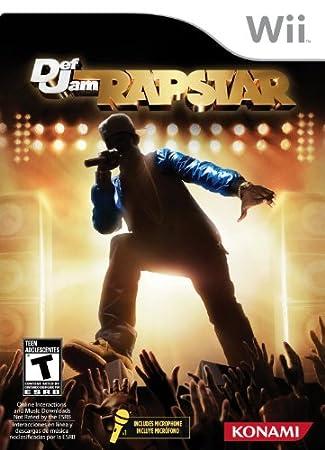 Konami 25123 Def Jam Rapstar Bundle - Nintendo Wii