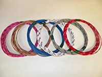 Special 18 Gxl Striped 6 Color X 25 Foot Long Each Automotive Wire Kit