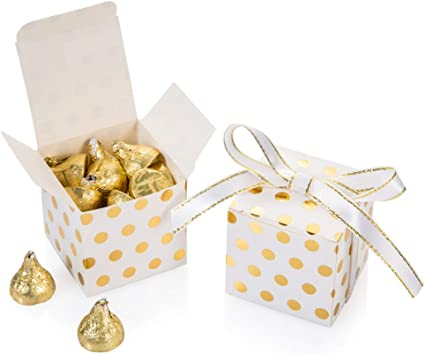 SMALL Yellow Treat Boxes Wedding Confetti Favour Loot Gift Party Cupcake Box