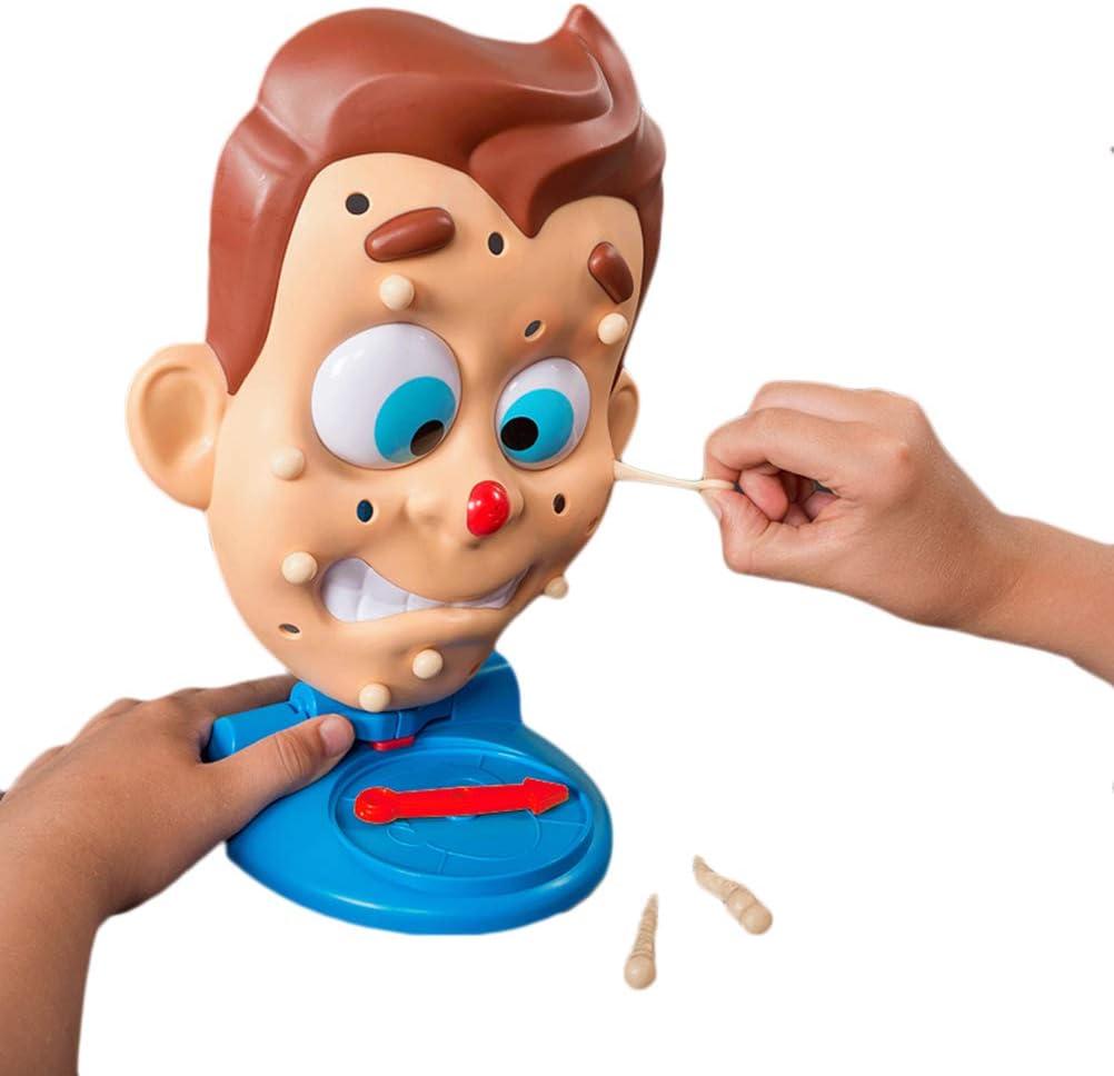 Squishy Espinilla Popper Toy Espinilla Acné Prensa Hablada Juguete Divertido Asco antiestrés Juguete Speelgoed Diversión: Amazon.es: Hogar