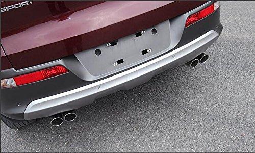 Momoap 1Pcs Car Chrome Stainless Steel Tailpipe Exhaust Muffler Tail Pipe Tip for Honda CRV CR-V 2011-2016