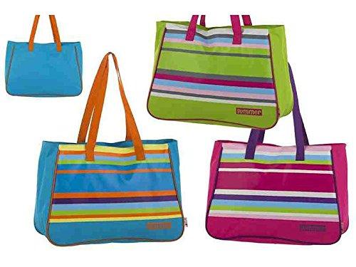 ColorBaby , Borsa da spiaggia  multicolore colori assortiti