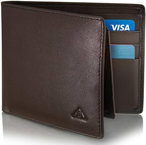Motion Trend Men's RFID Wallet - Leather RFID Blocking Wallet