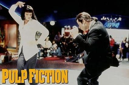 Amazon com: Pulp Fiction Movie (Uma Thurman & John Travolta