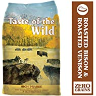 Taste of the Wild High Prairie Grain-Free Dry Dog Food with Roasted Bison & Venison 28lb