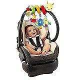 Baby Kids Crib Cot Pram Hanging Rattles Spiral Stroller Car Seat Toy