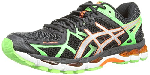 asics gel kayano 21 black lightning