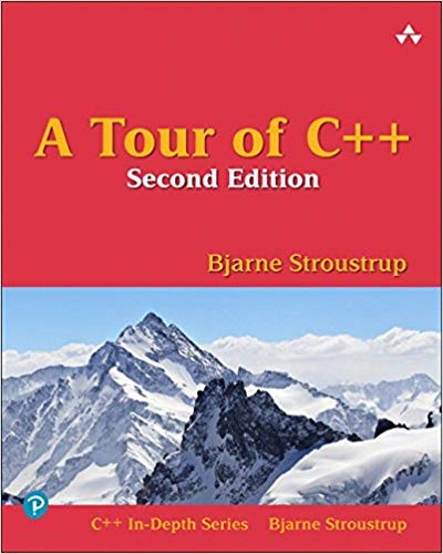 [0134997832] [9780134997834] A Tour of C++ (2nd Edition) (C++ In-Depth Series)-Paperback (A Tour Of C C In Depth Series)