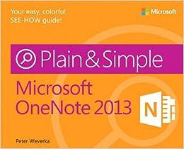 Book Microsoft OneNote 2013 Plain & Simple