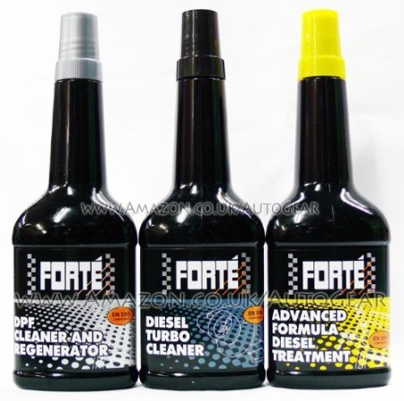 Forte Tratamiento y DPF Diesel Fuel System Cleaner Limpiador y Turbo Package: Amazon.es: Coche y moto