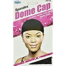 Dream Spandex Dome Cap #114 Black, Superior quality, weaving caps, weaving, wigs, bandana, sew in, cap