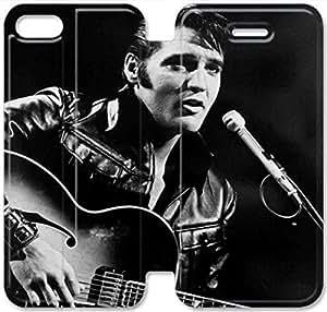 Elegant Printing Elvis Presley-15 iPhone 6/6S 4.7 Inch Leather Flip Case