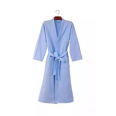 BLESSI Women s Cute Rabbit Print Kimono Sleepwear Robe Pajamas (Blue b638b7969