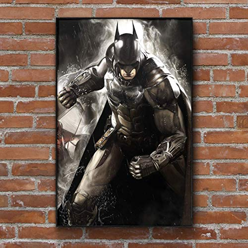 Batman Dark Knight Painting - Art Print - Wall Decor - Framed Poster - Gift (4x6-11x17 IN)