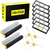 Neutop 880 Parts Replacement for iRobot Roomba 880 980 870 860 960 800 900 805 Robotic Vacuum Cleaner ( 6 Hepa Filters, 4 Side Brushes, 2 Sets Rollers )