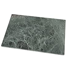 Creative Home 18 by 12 by 3/4-Inch Marble Pastry Board, Green
