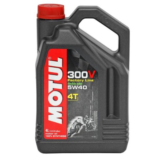 Motul 300V 4T Competition Offroad Synthetic Oil - 5W40 - 1L. 102707