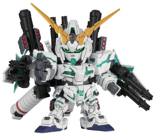 Bandai Hobby BB #390 SD Full Armor Unicorn Gundam Model Kit ()