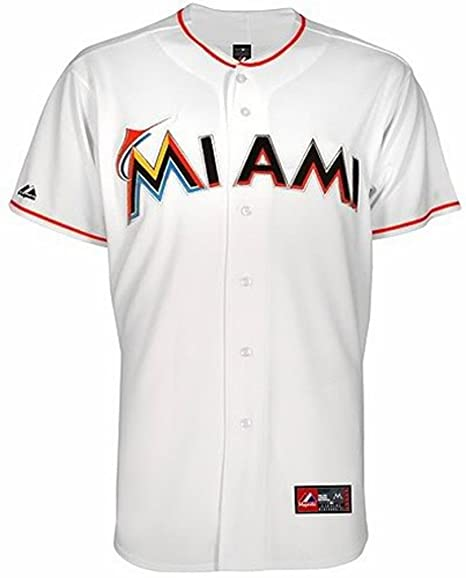 new products e7bde 2f4bb miami marlins baseball jersey