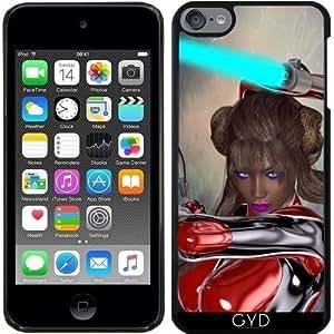 Funda para Ipod Touch 6 - Chica Espada De Luz by Brian Raggatt