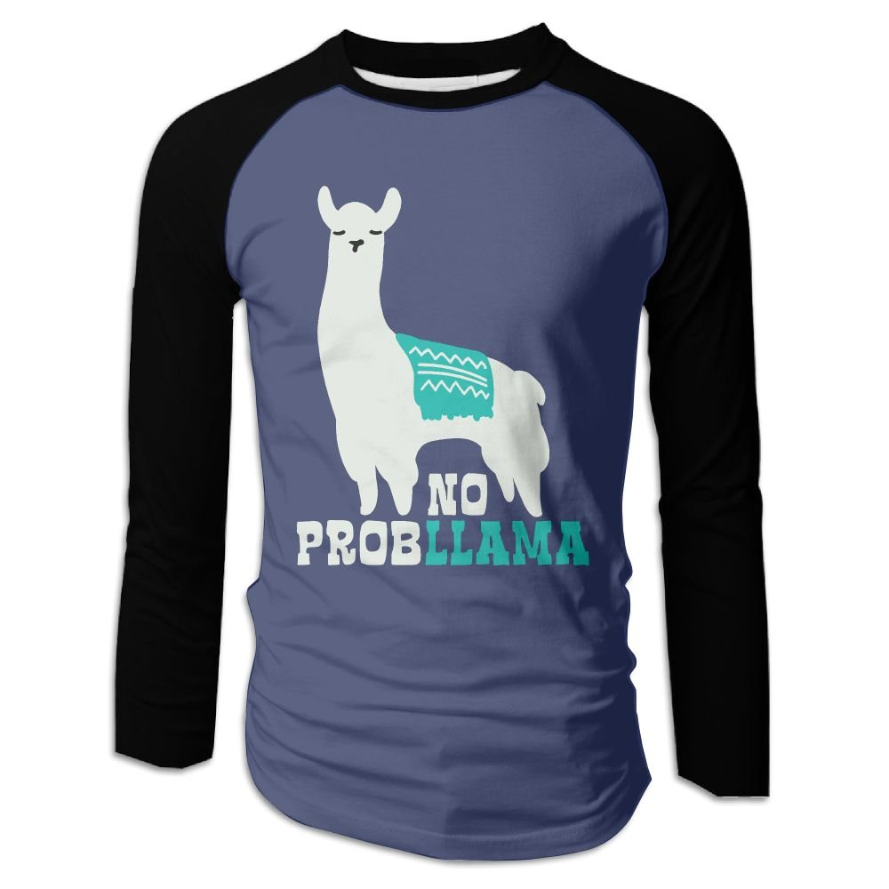 Amazon Com Diosehuts Men S No Probllama Funny Llama Clipart