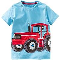 Hot Sale!Kstare Baby Boys' Short Sleeve Cartoon Pattern Casual T-Shirt Tops Tee