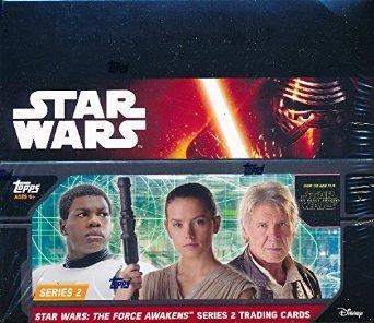 2016 Topps Star Wars Force Awakens Series 2 Retail Box