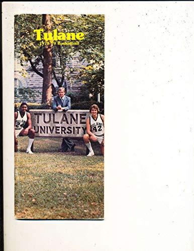 (1978-1979 Tulane Basketball Media Press Guide bk23c )