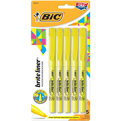 Brite Liner Chisel Size Yellow