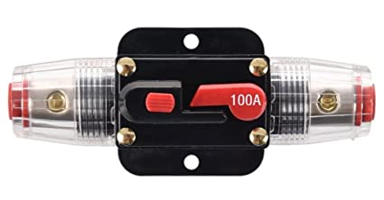 amazon com anjoshi 100a auto car protection stereo switch fuse rh amazon com
