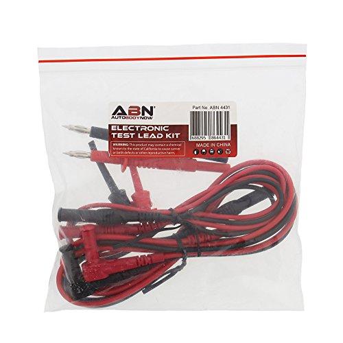 Electronics Tester Parts : Abn electronic test lead kit universal connectors set