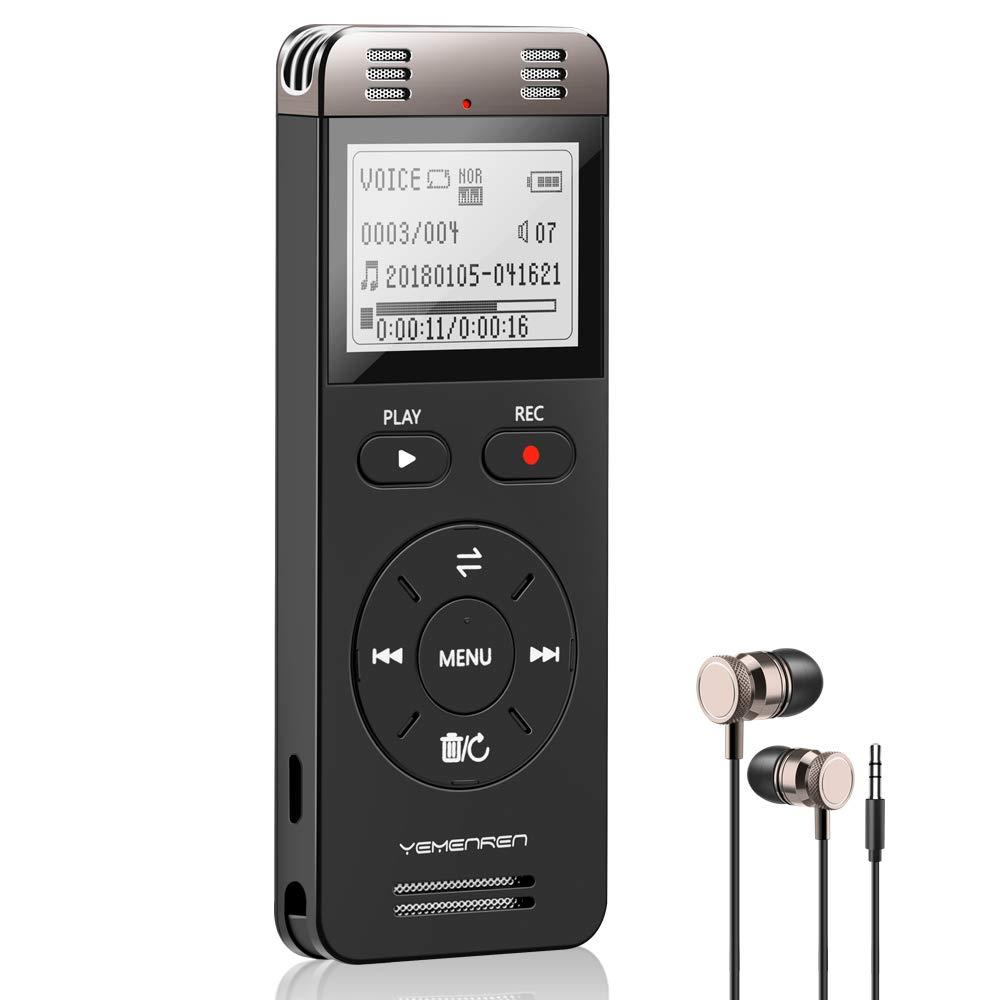 Unterhaltungselektronik Offen 8 Gb Professional Audio Recorder Mini Usb Digital Voice Recorder Mp3 Player Diktiergerät Tragbare Sound Recorder