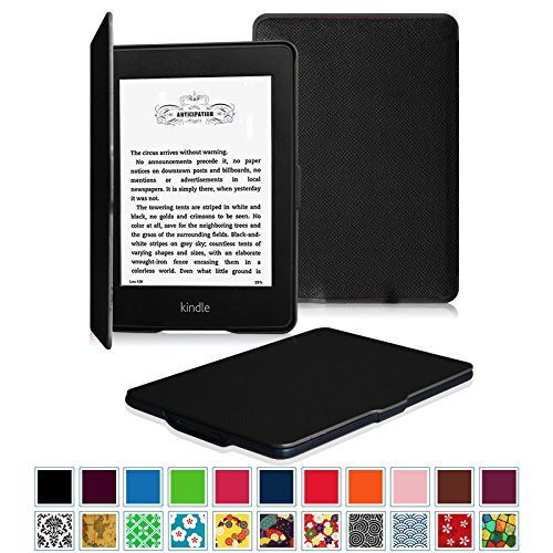 Fintie Funda para Kindle Paperwhite – Slim Ligera Smart Shell Case Carcasa con Auto – Sueño / Estela para Amazon All-New Kindle Paperwhite (Ambos 2012, 2013, 2015 y 2016 Versións),