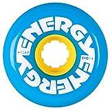 Radar Energy Outdoor Roller Skate Wheels Blue w/Yellow Hub 8pk