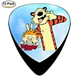 Calvin And Hobbes Guitar Picks Guitar Picks Celluloid 12 Pack Complete Set ONE_SIZE