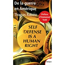 Self Defense is a human right