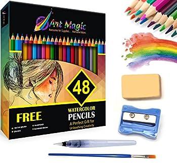 Art Magic Set of 48 Watercolor Pencils