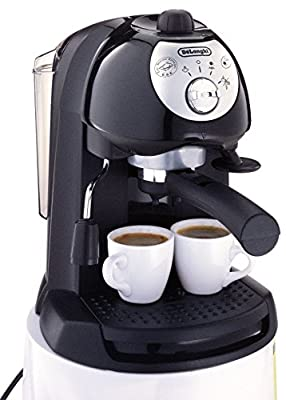 De'Longhi BAR32 Retro 15 BAR Pump Espresso and Cappuccino Maker by Delonghi