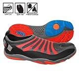 zemgear split toe running shoes - ZEMGEAR U EX Ninja Grey/Orange M7/W8