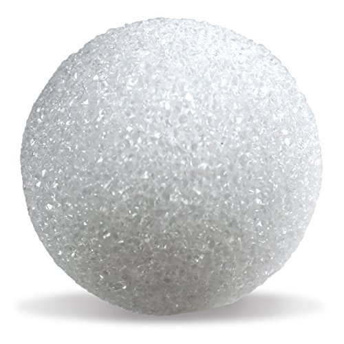 Hygloss Products White Styrofoam Balls for Arts and Crafts - 4 Inch, 12 Pack]()