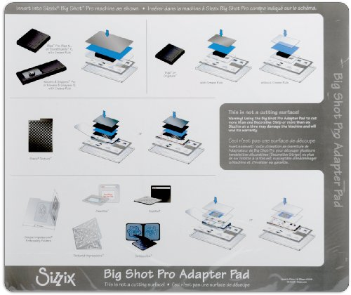 Sizzix Big Shot Pro Accessory - Adapter Pad, Standard by Sizzix