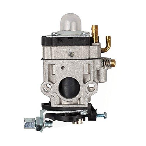 Janrui 300486 Carburetor with Repower Tune-Up Kit for Earthquake E43 E43CE E43WC Auger MC43 MC43E MC43CE MC43ECE MC43RCE Tiller MD43 WE43 WE43E WE43CE Edger