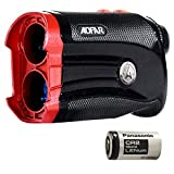 AOFAR G2 Golf Rangefinder with Slope Waterproof Laser Range Finder with Slope, Pulse Vibration, Carrying Case, Compatible with Panasonic Battery, Gift Packaging