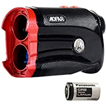 AOFAR G2 Golf Rangefinder with Slope 600 Yards Laser Range Finder 6x25mm Waterproof, Pulse Vibration, Carrying Case, Free Battery, Gift Packaging