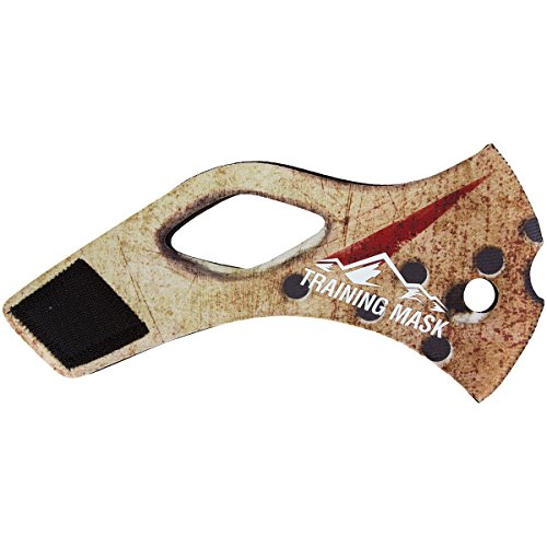 Elevation Training Mask 2.0 Jayson Sleeve - White-Brown - Medium