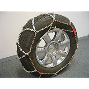 BikeBatts 4wd 390-40 Diamond Grip 16 mm Tire Chains for Passenger Cars, SUV's, and Light Trucks
