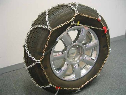 BikeBatts 4wd 490-100 Diamond Grip 16mm Tire Chains for Passenger Cars, SUV