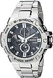 Casio Men's GST-B100D-1ACR G-Shock Analog Display Quartz Silver Watch